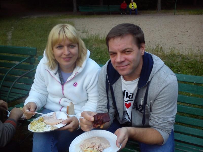 Konojady 2015, kolacja w towarzystwie Kasi Dębskiej