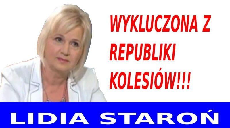 Lidia Staroń - Wykluczona z republiki kolesiów