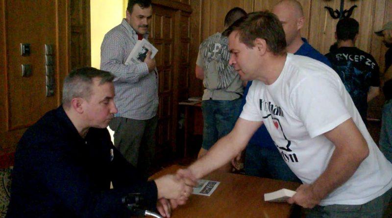 Wojciech Sumliński pogorzelisko dobra zmiana
