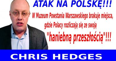 Chris Hedges - Atak na Polskę