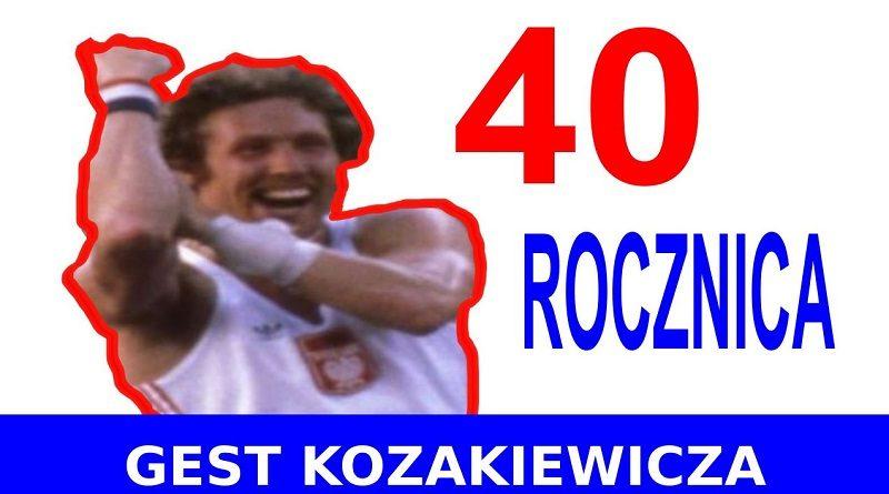 Gest Kozakiewicza - 40 rocznica