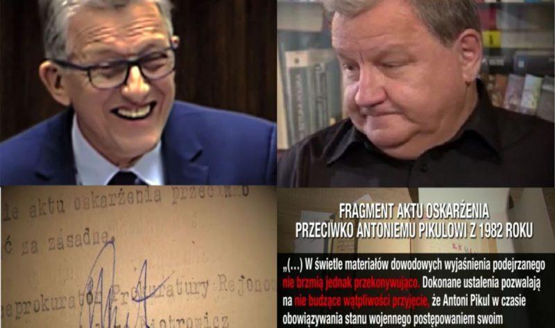 Nie bójcie się prawdy! Antoni Pikul kontra Stanisław Piotrowicz