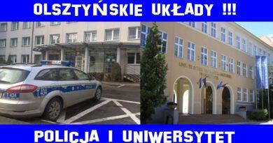 Olsztyńskie układy - Policja i Uniwersytet