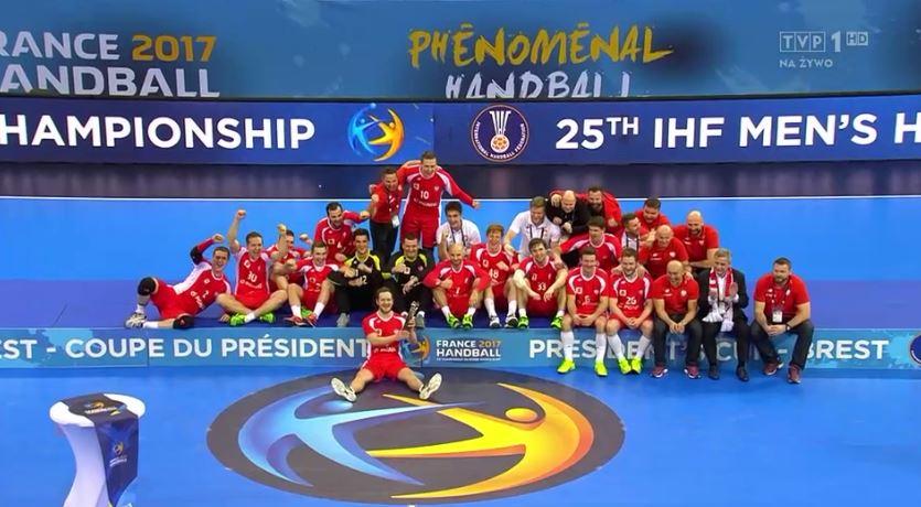 Polacy z Pucharem Prezydenta IHF