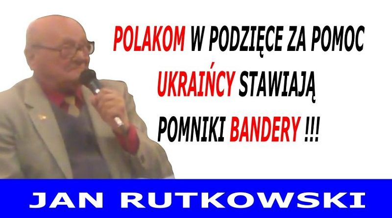 Polakom w podzięce za pomoc - Jan Rutkowski
