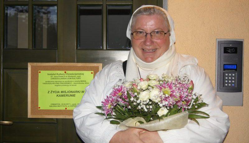 siostra Tadeusza Helena Frąckiewicz, fot. Stanisław Olsztyn