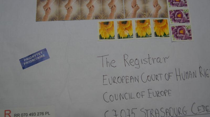 Skarga do ETPC wysłana
