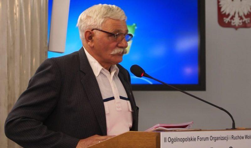 Alfred Surma w Sejmie RP, 28 maja 2017 r., fot. Stanisław Olsztyn