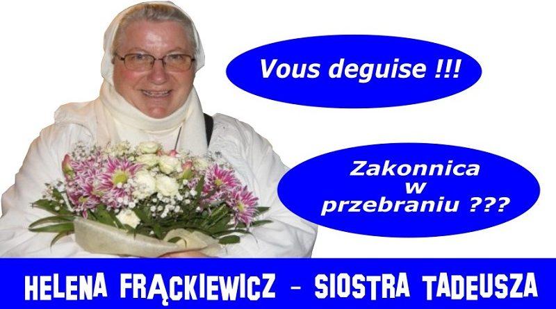 Helena Frąckiewicz - Siostra Tadeusza - Olsztyn 2017