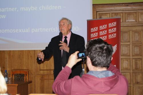 Paul Cameron w Olsztynie, fot. Stanisław Olsztyn