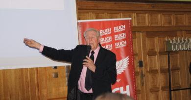 Paul Cameron w Olsztynie, Zniszczyliście Związek Radziecki