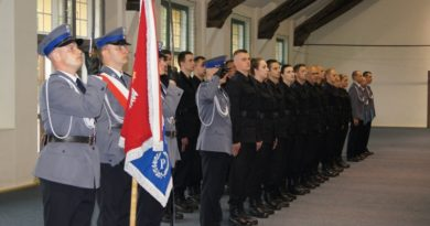 01.06.2017 r. - Ślubowanie policjantów w Olsztynie, fot. Stanisław Olsztyn