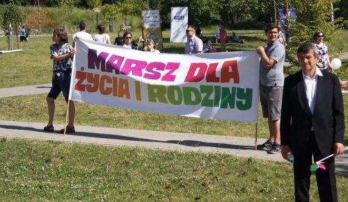 VI Marsz dla Życia i Rodziny, Olsztyn 11 czerwca 2017 r., fot. Stanisław Olsztyn