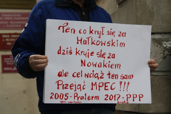 Olsztyn, 13 lipca 2017 r., fot. S. Olsztyn Wszystkim przeszkadzamy - fot. S. Olsztyn