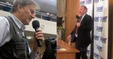 Tadeusz Poźniak kontra Stanisław Michalkiewicz - fot. Stanisław Olsztyn reparacje wojenne