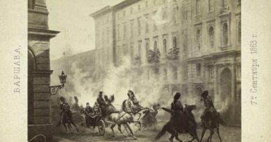 Chora rosyjska dusza - 1863 Warszawa