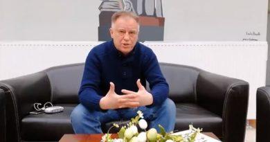 Panie ministrze Ziobro - Bogusław Owoc w Sądzie Okręgowym - 27.03.2018 r. - fot. S. Olsztyn
