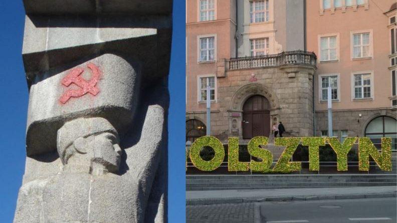 Czerwone oblicza olsztyńskich urzędników - fot. S. Olsztyn