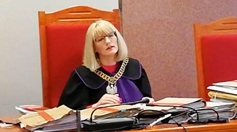 Publikacja wyroku Majestat Rzeczypospolitej - SSO Dorota Lutostańska - fot. S. Olsztyn