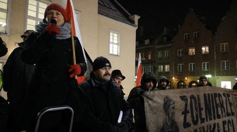 V Olsztyński Marsz Pamięci Żołnierzy Wyklętych - 01.03.18 r. - fot. Stanisław Olsztyn