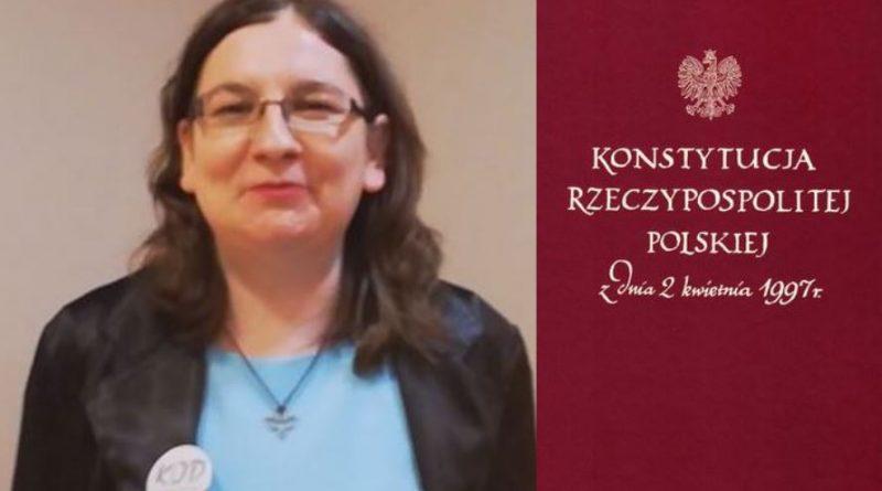 Warto by każdy Obywatel Konstytucję znał - Marta Kamińska