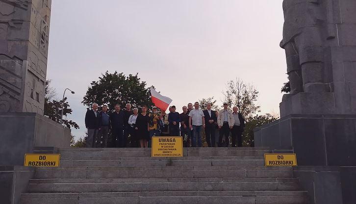 Wniosek do prezydenta Olsztyna prosta sprawa Szubienice - 17.09.2018 r. - fot. S. Olsztyn
