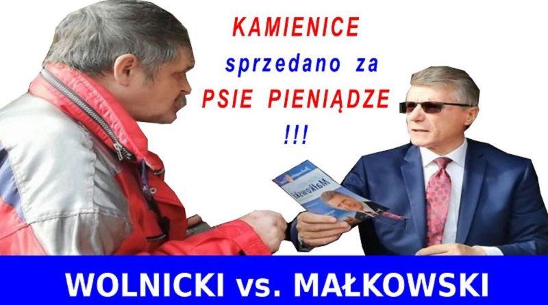 Kamienice sprzedano za psie pieniądze - Wolnicki do Małkowskiego