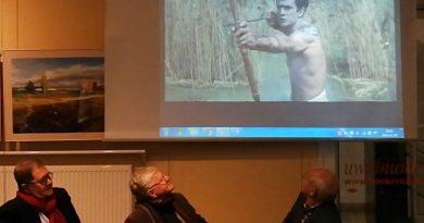 Malowaliśmy trzciny - Mazury Witolda Sobocińskiego - 28.11.18 r. - fot. S. Olsztyn