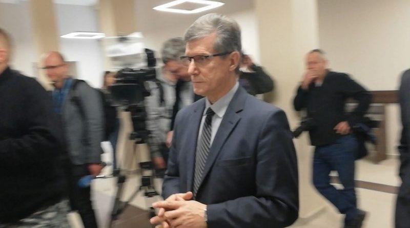 Czesław Jerzy Małkowski w Sądzie Rejonowym - 28.12.2018 - fot. S. Olsztyn