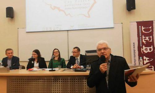 Czy Polsce potrzebna jest nowa Konstytucja - 06.12.18 r. - fot. Stanisław Olsztyn