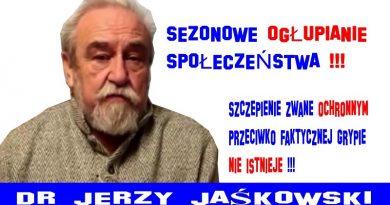 Jerzy Jaśkowski - Sezonowe ogłupianie społeczeństwa