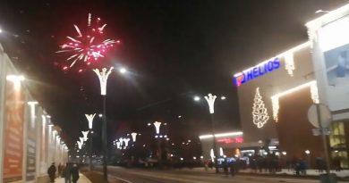 Nowy Rok 2019 w Olsztynie