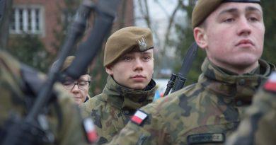 Terytorialsi złożyli przysięgę w Olsztynie 3 lutego 2019