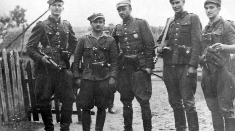 Żołnierze V Brygady Wileńskiej AK - źródło RDI