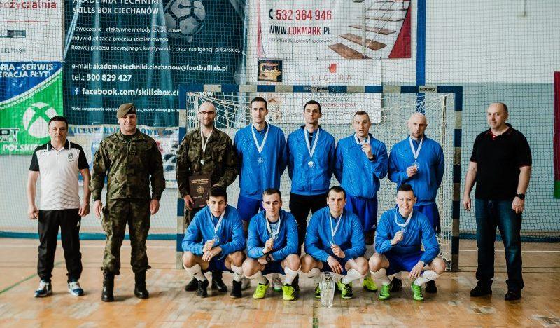 Terytorialsi z Warmii i Mazur wicemistrzami w futsalu