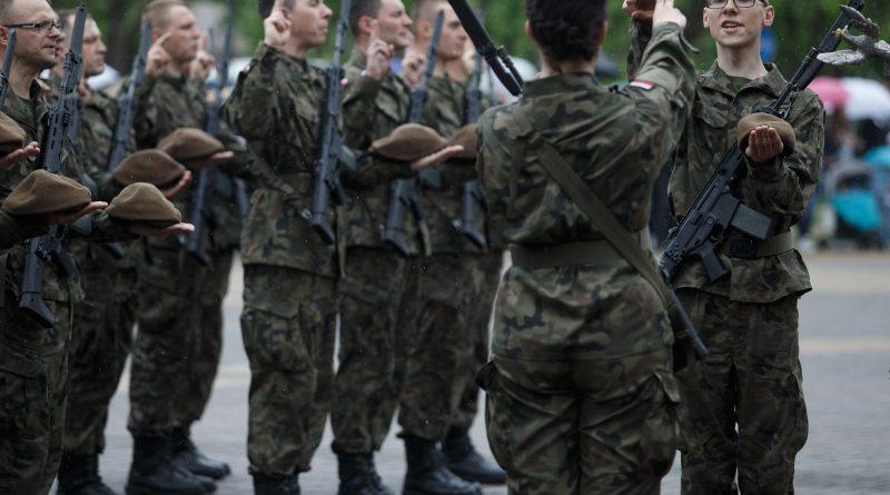 Fotorelacja z przysięgi Terytorialsów w Morągu - 19.05.2019