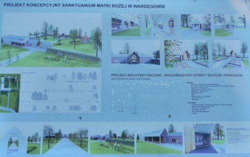 Projekt koncepcyjny Sanktuarium Matki Bożej w Wardęgowie