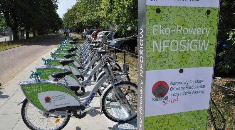 Eko-Rowery NFOŚiGW (fot. NFOŚiGW - M.Sobota)