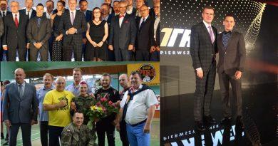 Ariel Kruk - Terytorials wyróżniony przez Ministra Sportu i Turystyki