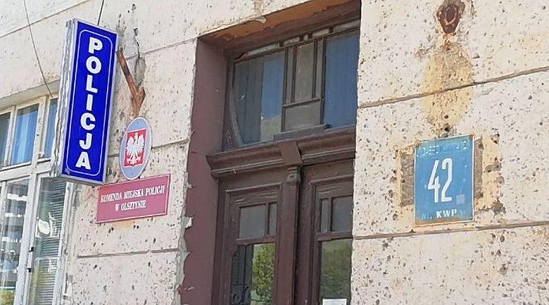 szczyt bezradności dobrej zmiany w olsztyńskiej policji