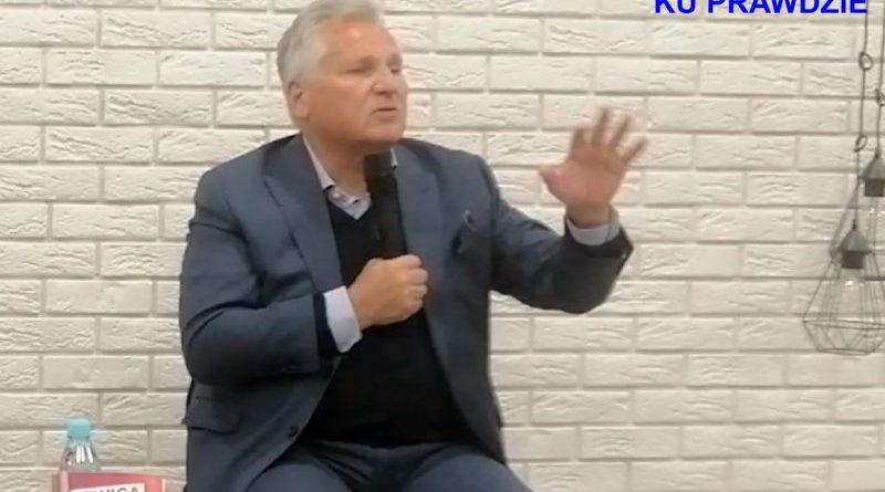 Aleksander Kwaśniewski w Olsztynie - 20.09.2019 - fot. S. Olsztyn