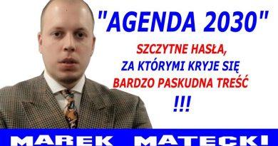 Marek Matecki - Agenda 2030