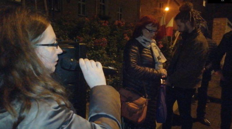 Nienawiść i obojętność - Olsztyn 09.11.19 - fot. S. Olsztyn