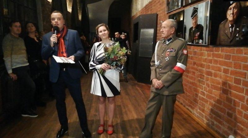 Wierni - Portrety żołnierzy AK - Wernisaż wystawy Jakuba Obarka - 21.11.2019 - fot. Stanisław Olsztyn