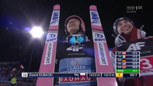 Dawid Kubacki - Zwycięzca TCS 2020