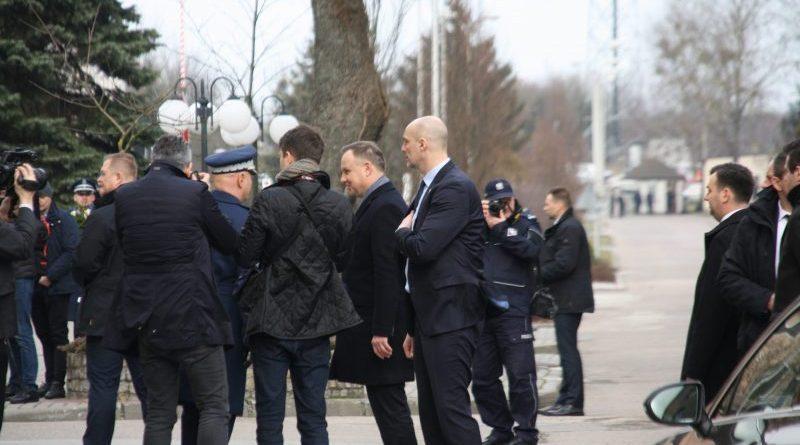 Prezydent Andrzej Duda w Szkole Policji w Szczytnie - fot. A. Adamowicz