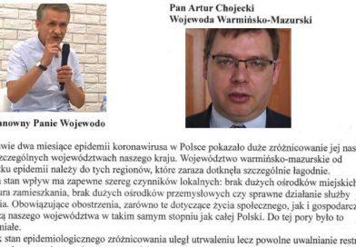 Apel Bogdana Bachmury do Artura Chojeckiego