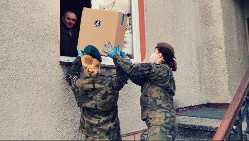 święta terytorialsi spędzą w mundurze - paczki