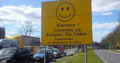 Kierowco uśmiechnij się