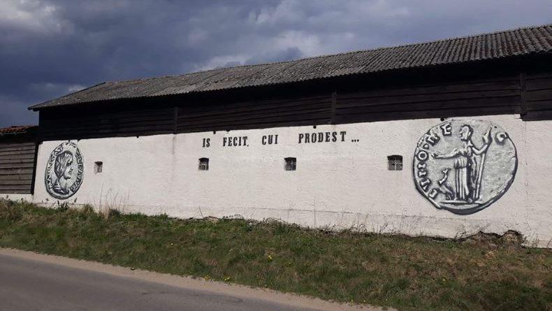 Rzymski denar wizytówką Patryk - Jacek Skrzyński